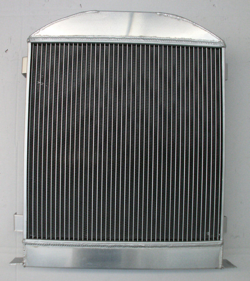 Aluminum Radiator For Ford Hi Boy Hi-Boy 1932 32 Chevy Engine Hotrod 3 Rows
