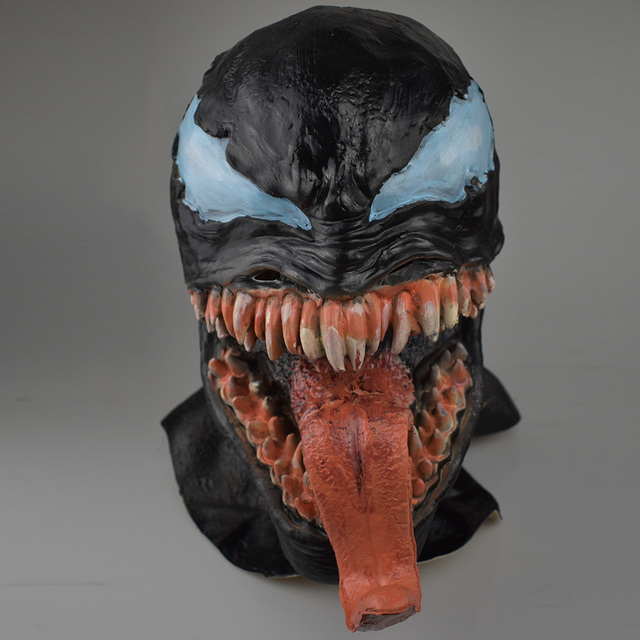 Venom Mask Spider Man Comic Inspired Cosplay One Size For Adult 4