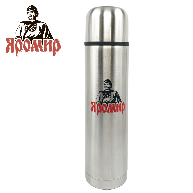 YAROMIR YAR-2010M Hot cup 750ml Vacuum Flask Thermose Travel Sports Climb Thermal Pot Insulated Vacuum Bottle Stainless Steel ryder n1005 outdoor dual layer stainless steel abs water bottle red 600ml