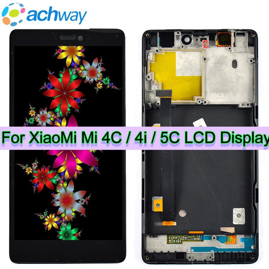 100% Tested LCD XIAOMI MI4C 5C Display Touch Screen 1920X1080 Digitizer Assembly Replacement XIAOMI MI 4C MI5C LCD Display+Frame100% Tested LCD XIAOMI MI4C 5C Display Touch Screen 1920X1080 Digitizer Assembly Replacement XIAOMI MI 4C MI5C LCD Display+Frame