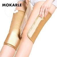 Electric Vibrating Heating Pad Thermal Warm Kneepad Joint Physiotherapy Massage Support Pain Relief Rehabilitation Equipment
