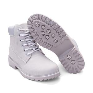 Image 4 - TUINANLE Botas de nieve de felpa para mujer, zapatos femeninos de tacón, a la moda, para mantener el calor, en talla 36 42, color rosa, para otoño e invierno, 2020