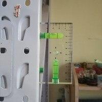 HACCURY высококачественный высокий прозрачный Магнитный уровень пузырьковый мини-уровень духов с тремя сильными магнитными магнитами