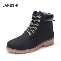 Men Boots Autumn And Winter Man Shoes Ankle Boot Leather Men S Snow Shoe Work Plus