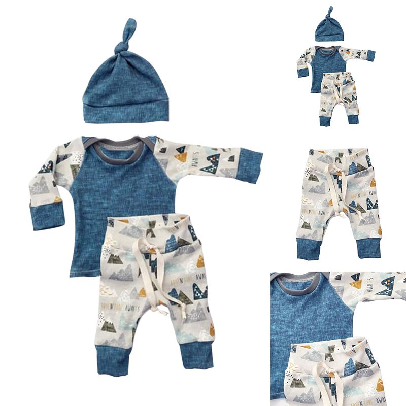 3PCS-Kids-Boys-Girls-Clothing-SweatshirtBottoms-PantsHat-Clothes-Set-Spring-Summer-Newborn-Baby-Cloth-Sets-4