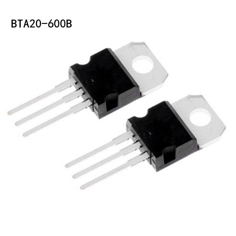 10pcs BTA20-600B BTA20-600 Triac 600V 20A FREE SHIPPING