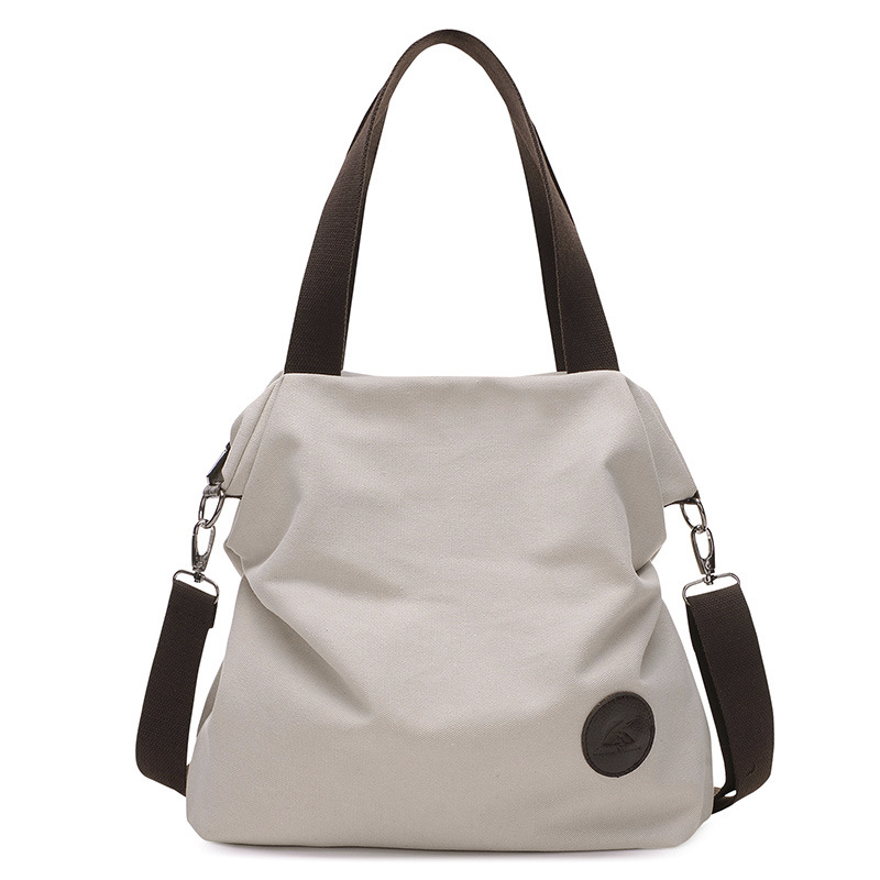 Dropwow 2018 Brand Large Pocket Casual Tote Women s Handbag Shoulder ... 4509d551a6ea9