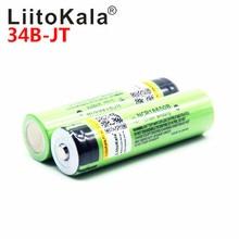 2018 LiitoKala 18650 3400 Batterie 3400mAh 3,7 V NCR18650B Wiederaufladbare Li-Ion Batterie für Taschenlampe für (KEINE PCB)