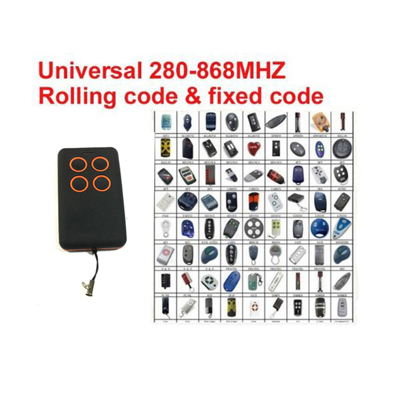 2018 Multy frequency 280-868MHz remote clone universal rolling code transmitter remote