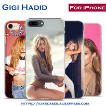 Gigi Hadid pretty Cover Supermodel idol sexy Telefoon Case Cover Shell Tas Voor Apple iPhone 7 PLUS 7 6 SPLUS 6 S 6 PLUS 6 5 5 S SE 4 4 S(China)