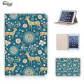 New Painted PU Leather Case For Apple iPad mini Case Sleep Wake Up Magnetic Stand Protector Table Case For iPad mini 1 2 3