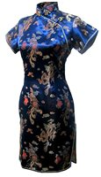 Shanghai Story Women's Short Cheongsam Qipao Traditional Chinese Dress Plus Size S M L XL XXL XXXL 4XL 5XL 6XL Vestido