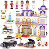 1676pcs Bela Diy Friends Heartlake Grand Hotel Building Blocks Compatible With Legoingly Bricks Toys Gifts For