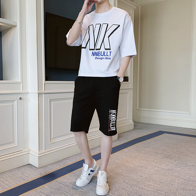 Men's short sleeve shirt  Fashion striped shirt  Handsome matching summer Casual Shirts  Suit  B217