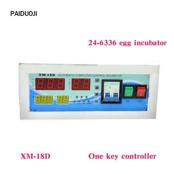 Thermostat with Temperature Humidity Sensors Full automatic egg incubator Controller XM-18D  for sale