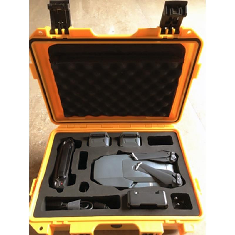 Dji MAVIC POR protection box safety box moisture-proof box, suitcase waterproof custom EVA lining shipping free u2 complete edition 1976 2012 box 17cdbrand box free shipping