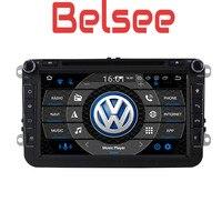 Belsee for Volkswagen Jetta Passat Golf Polo CC Skoda Seat Android 9.0 Car Radio 4GB GPS Navigation Stereo Head Unit Autoradio