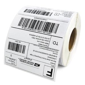 Image 3 - 4x6 Termico Etichette di Spedizione 100x150mm per Zebra 2844 Zp 450 Zp 500 Zp 505, 100x100mm, 100x200mm, Top Rivestito, 1 Rotolo