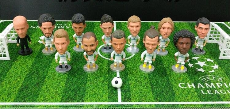 [New] Simulate Football Field football match Cristiano Ronaldo Messi Neymar model Action Figure Football star soccer game toy
