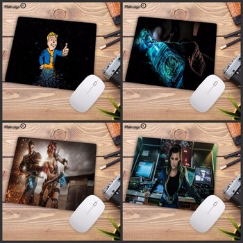 Mairuige Fallout mouse pad gamer notbook mouse mat large gaming mousepad large High-end pad mouse PC Desk padmouse 18x22cm