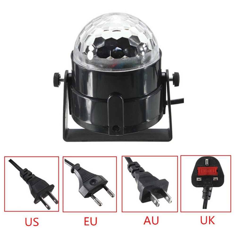 Portable Smart Stage Lights Disco Light Stage Lamp Beam Lights RGB Mini Wedding Supplies LED Mood Light KTV Dj Equipment messenger bag