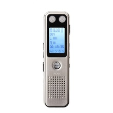 цена на Mini Portable Long Standby 8GB HD Digital Voice Recorder MP3 Player Audio Playback Noise Reduction Sound Control Recording Pen