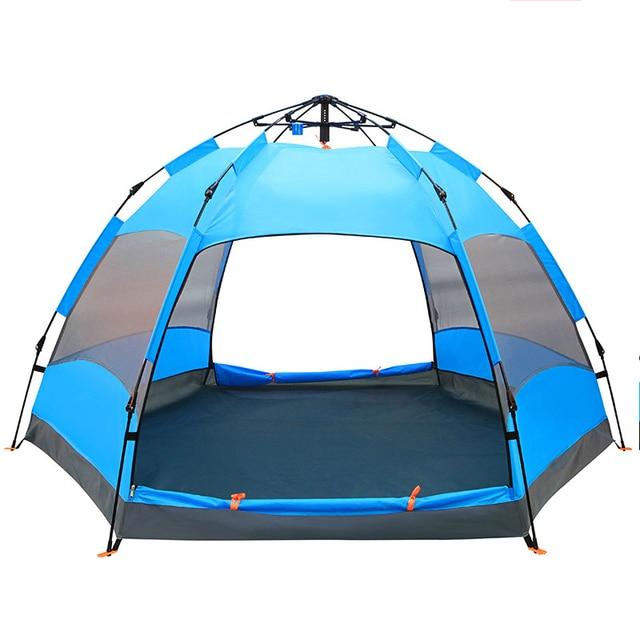 43fa4eb1f95f0 Rapide Ouverture Automatique En Plein Air Tentes Grand Espace Pliage Chapiteau  Tente Barracas De Camping Pour