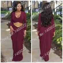 Lila Moslemischer Ballkleider 2015 Kaftan Abaya Mantel Scoop Abaya In Dubai Langarm Goldperle Arabische Abendkleider Islamischen