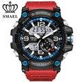 2017 новая мода спортивные часы мужчины наручные часы LDE ourdoor водонепроницаемый спорт военная G стиль S Шок часы мужская luxury бренд