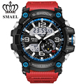 2017 nova moda sports relógios homens de pulso LDE ourdoor esporte militar à prova d' água G estilo S Choque relógios de luxo dos homens marca