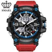 2017 New Fashion Sports Watches Men Wristwatch LDE Ourdoor Waterproof Sport Military G Style S Shock