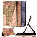 Хорошее Качество Крышка для Samsung Tab S T700 Случаях Карта Мира шаблон Кобура для Samsung T705 8.4 дюймов Случаи для Samsung Tab S T700