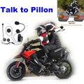 Uno para hablar bewteen piloto y pasajero/Escuchar Música/Recibir Llamadas! hablando con pillon auricular Bluetooth de La Motocicleta