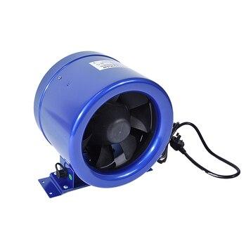 1 Unidad 8 Cun Silencioso. Controlador De Velocidad Del Ventilador De Conducto-extractor De Escape De Seis Pulgadas Potente Extractor De Frecuencia 70W 110 V/220 V