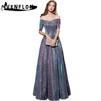 VENFLON Sexy Strapless Summer Dress Women 2019 Elegant Formal Ball Gown Long Party Dress Female Casual Plus Size Slim Maxi Dress