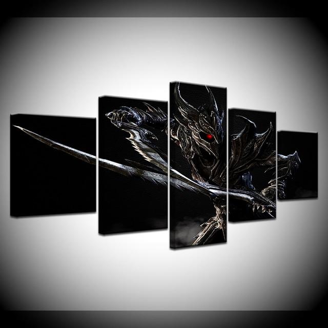 Модульный холст  Skyrim -