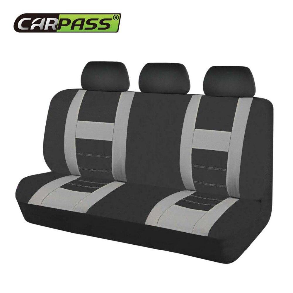 Car-pass Новинка 2017 года Задняя Авто Чехлы из сетчатой ткани для всех автомобилей универсальные чехлы для volkswagen
