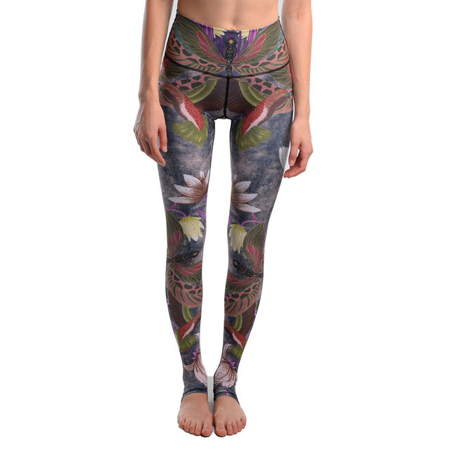 6 Style Move Brand Sexy Stretched Leggings Clothes Spandex 3D Dragonfly Print Leggins Women Pants Fitness Yuga Pants Jeggings