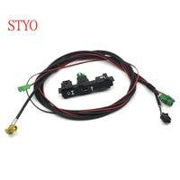 STYO VW Carplay Cap Socket MDI USB AMI + Wire/Cable/Harness for VW Tiguan Touran 2017 2018