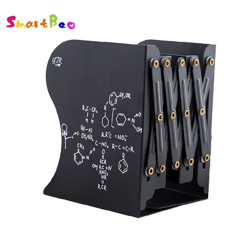 Cartoon Metal Bookend Book Standing Stretching Adjustable Book Stand Book OrganizerCartoon Metal Bookend Book Standing Stretching Adjustable Book Stand Book Organizer