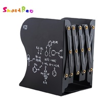 Cartoon Metal Bookend Book Standing Stretching Adjustable Book Stand Book Organizer