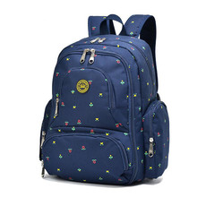 Qimiaobaobei Large capacity multifunctional mummy backpack nappy bag baby diaper bags mommy maternity bag babies care product