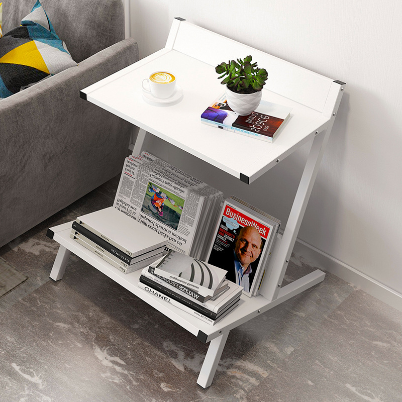 Small Table Coffee Table Ins Bedside Table Simple Modern Creative Corner Sofa Edge Shelf Magazine Holder