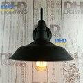 Black finished loft scone wall lights E27 plated Loft american retro vintage metal wall lamp 110V-220V Antique lamp industrial