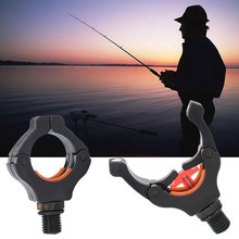Durable Fishing Rod Gripper Accessory Carp Rack Clips Nylon Magnet Stand Pod Holder Outdoor Tackle Sticks Practical carp fishing rod pod set 2pcs bank sticks and 2pcs buzz bars butt for carp coarse fishing tackle