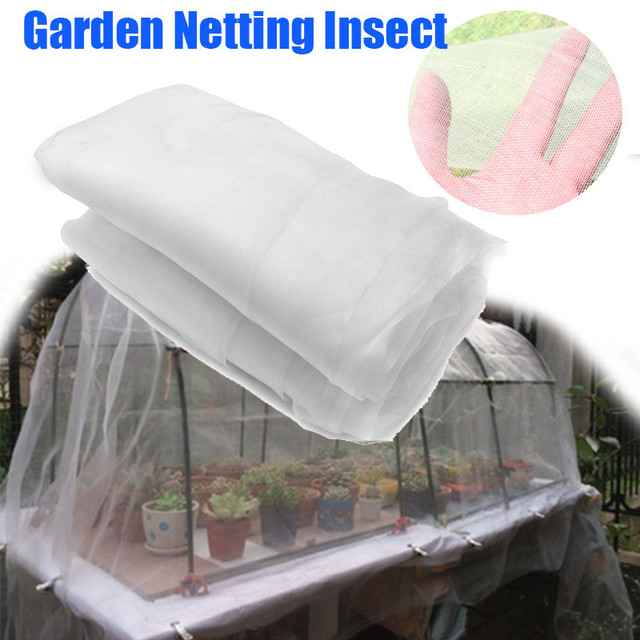 2.5X10M Garden Netting Vegetable Flowers Protection Insect Mosquito Anti Bird Net Outdoor Greenhouse Pest Control Hunting Net