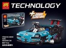 Nova 647 pcs Técnica Figuras Drag Racer Modelo Kits de Construção de conjuntos de Blocos de Tijolos Brinquedos Venda Quente Para Crianças Dom Compatível 42050