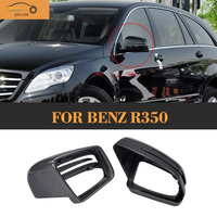 R Class Replaced carbon fiber car side mirror Cover Cap for Mercedes Benz R350 13 15
