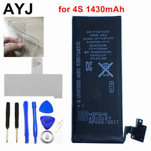 AYJ Battery Tape for iPhone 4 S 4S Free Repair Tools Kit AAAAA 1430 mAh