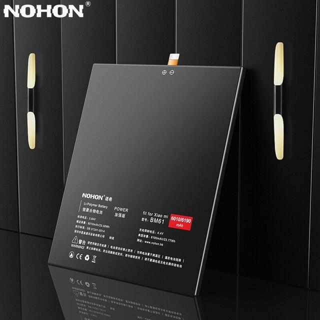 NOHON Pin Cho Xiao mi mi Pad 2 BM61 Thay Thế Pin Máy Tính Bảng 6190 mAh mi Pad 2 mi pad2 Pad2 batarya Lithium Polymer Công Cụ Miễn Phí